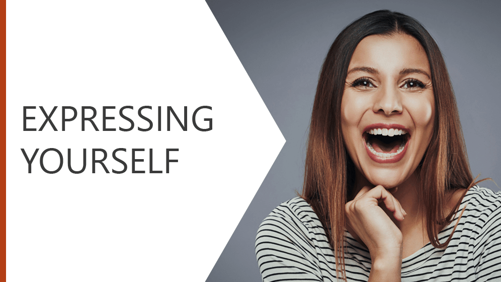 Expressing Yourself Module